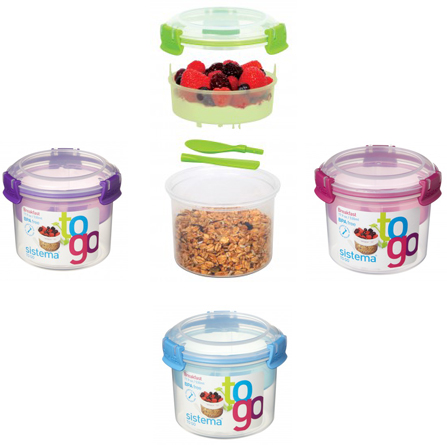 Sistema To Go Breakfast containers