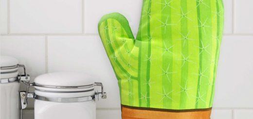 Cool Cactus ovenhandschoen