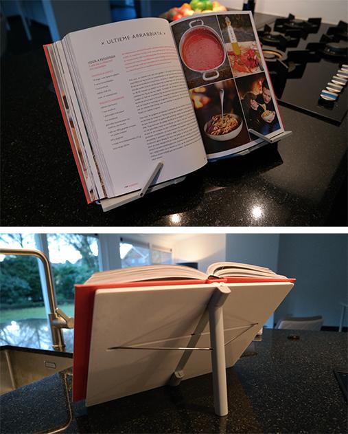 Opvouwbare kookboekstandaard Joseph Joseph CookBook