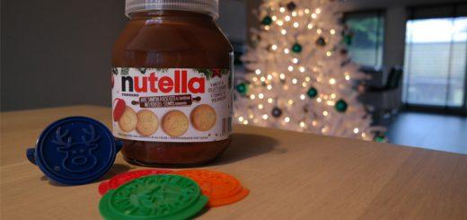 Nutella kerstkoekjes