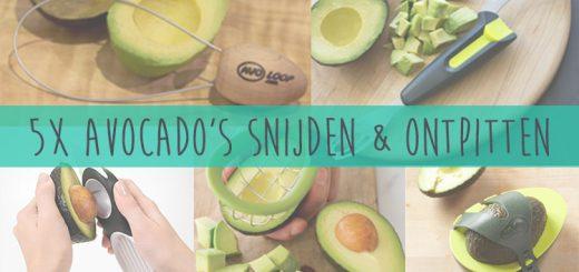 Avocado snijden en ontpitten