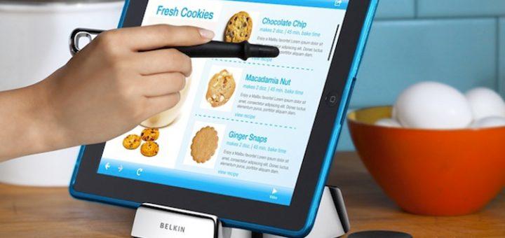Belkin Chef Stand, de kookstandaard voor je tablet