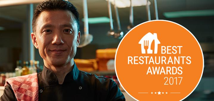 Thuisbezorgd Beste restaurants award 2017