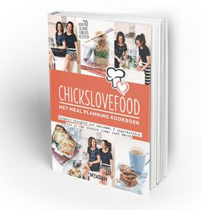 chickslovefood meal planning-kookboek