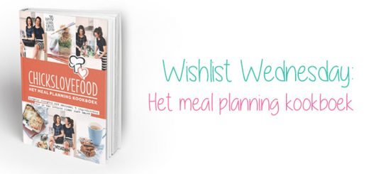 Chickslovefood meal planning kookboek